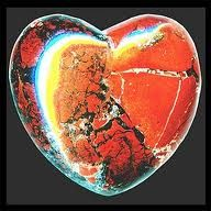 hearts′ empath ♥ brick-red ♥ brecciated jasper (aka poppy jasper) puffed in the shape of a heart-symbol was 'empathed', i. overdubbed & admixed with a tricolor broken - heart - festoon by means of the scanning process. The object was scanned i Broken Heart Symbol, Healing A Broken Heart, Gum Disease Treatment, Getting Divorced, Days Of Our Lives, Pop Rocks, Pics Art, Boyfriend Gifts, Shea Butter