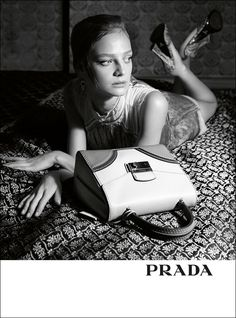 Gemma Ward, Ine Neefs and Julia Nobis for PRADA Spring Images