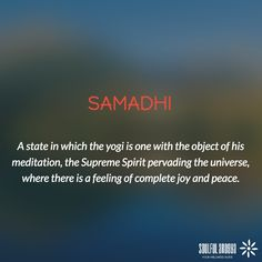 In higher samadhi, in absence of any support, the consciousness is absorbed within itself in perfect awareness, clarity and peacefulness. #yoga #meditation #samadhi
