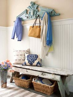 35 propuestas para decorar tu entrada / 35 Entry to inspire | Bohemian and Chic