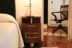 esta es una maravilloso dormitorio estilo art decó