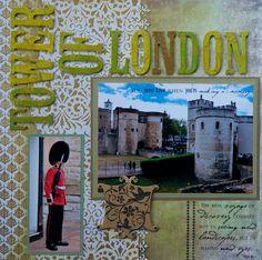 Tower of London, England - LEFT SIDE - Scrapbook.com