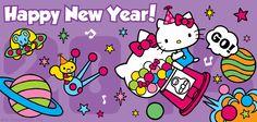 Happy New Year from Hello Kitty
