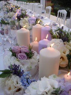 Wedding planner a Roma. Lilac Wedding, Wedding Flowers, Dream Wedding, Luxury Wedding, Party Centerpieces, Wedding Decorations, Table Decorations, Quinceanera Centerpieces, Wedding Planner