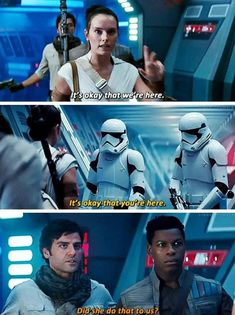STAR WARS: The Rise of Skywalker dir. Abrams The Effective Pictures We Offer You About Nerd Humor geek A quality picture can tell you many things. You can find the most beauti Star Wars Film, Star Wars Jokes, Star Wars Art, Funny Star Wars, Star Trek, Rey Star Wars, Star Wars Ships, Reylo, Geek Culture