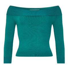 Tessa Knitted Top ($47) ❤ liked on Polyvore featuring tops and blue top