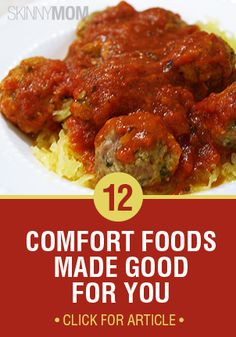 Who doesn't love comfort foods?? Better yet, who doesn't love HEALTHY comfort foods? Check them out here :)
