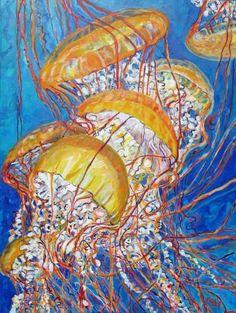 Head over Heels Mini | KIM RODY Ocean & Mountain Art