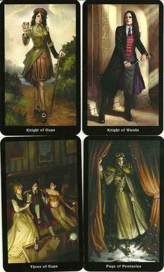 Steampunk Tarot images