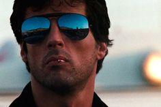 Sylvester Stallone as Lt. Marion Cobretti in Cobra Jackie Stallone, Sage Stallone, Stallone Cobra, Sylvester Stallone, Frank Stallone, Stallone Rocky, Jennifer Flavin, Pulp Fiction, Brigitte Nielsen