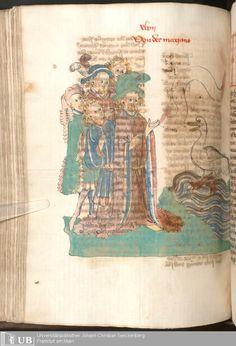 284 [140v] - Ms. Carm. 1 (Ausst. 47) - Das Buch der Natur - Page - Mittelalterliche Handschriften - Digitale Sammlungen  Hagenau, [um 1440]