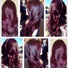 A mistura do roxo com vermelho é igual a Marsala cor que vem se destacando entre as opções mais desejadas para a mudança de visual nas últimas estações. Realmente incrível, não? Para ver mais segue @bemnafrente . . . . . . #brunogagliasso @brunogagliasso @gio_ewbank #chissomo #thevoicebrasil #polemicas #bemnafrente #titigagliasso #titiseminstagram #londonbeauty #marsala #hair #hairstyle