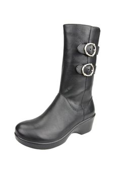 Alegria Shoes Erica Black Nappa Boots | FREE Shipping!