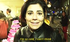 Marina And The Diamonds this is for the below zero weather we have been having.