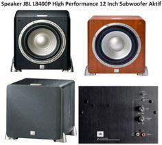 Harga Speaker JBL L8400P Subwoofer Aktif 12 Inch