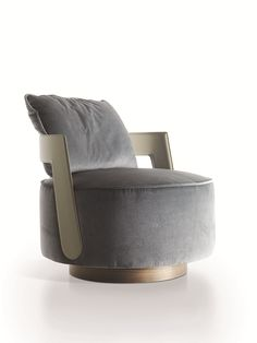 CHAGALL ARMCHAIR Concrete Furniture, Steel Furniture, Furniture Upholstery, Bedroom Chair, Sofa Chair, Chair Design, Furniture Design, Contemporary Armchair, Trendy Furniture