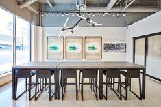 #graphicdesign #typography #environment #salescentre #signage #graphic #design #realestate #vancouver Sales Office, Graphic, Vancouver, Signage, Creative, Table, Furniture, Design, Home Decor