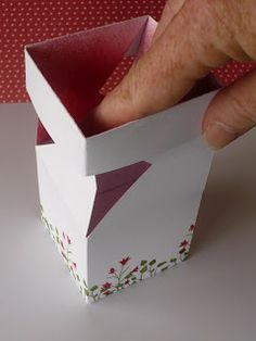 Stampinantics: IMPOSSIBLE BOX - TUTORUAL