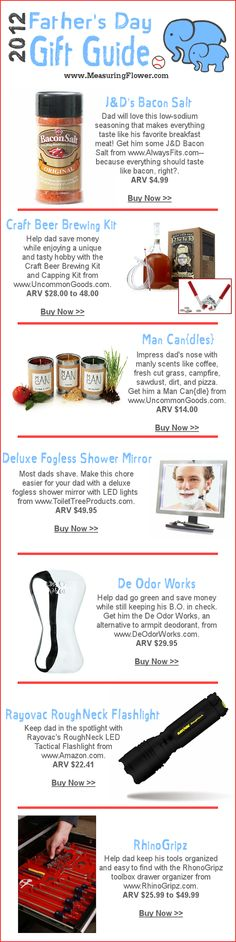 2012 Father's Day Gift Guide
