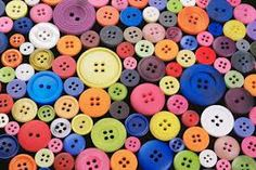 Buttons are used as fastening as they are strong, and can be decorative.