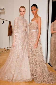 The one on the right is pretty. mother of the bride dress.