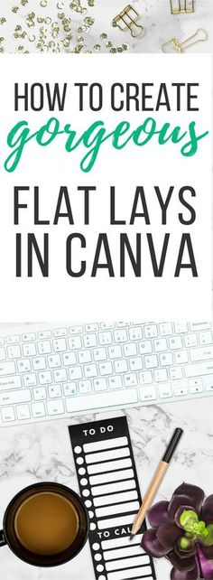 Jul 2017 - Have you ever wished you could easily create flat lays in Canva? My Canva Entrepreneur Kit is a desktop, flat lay creator made just for the Canva user—you! Content Marketing, Affiliate Marketing, Online Marketing, Media Marketing, Digital Marketing, Marketing Tools, Graphic Design Tips, Blog Design, Design Ideas