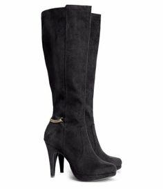 High Heeled Boots - Would prefer no heel but these are cute  http://www.hm.com/us/product/18038?article=18038-A