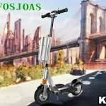 Fosjoas K2 Smart Folding Electric Scooter Is a Considerate Gift  People always look forward to festival present. However, many presents are not the one they are looking forward to since friends or relatives do not know what they want. #electricscooter