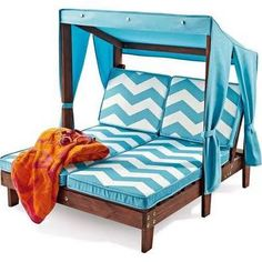 outdoor chaise with shade - Google Search