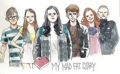My Mad Fat Diary (So excited it's coming back soon)