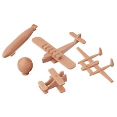 Wooden toys.
