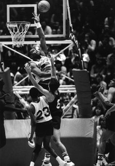 Charles Barkley during the 1984 U.S. Olympic Trials.