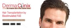 Dermaclinix world wide Hair Transplant, skin problem solution center. Hair transplant in India with AIIMS qualified doctors' panel, Hair Transplantation in Delhi. Call: -08882227080