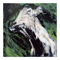 Soc Art goat goats acrylic canvas animal Sharon O'Connor Melbourne