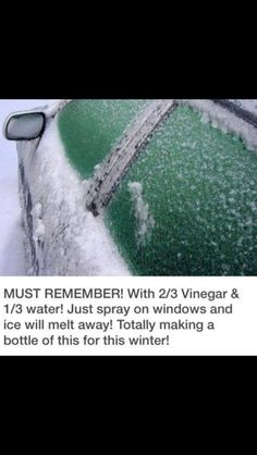 Easy Defrost in These Winter Months!