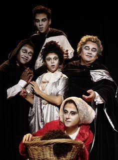 """O Sesc Ginástico apresenta até o dia 21 de dezembro a peça """"O Pequeno Zacharias - Uma Ópera Irresponsável"""", adaptado do clássico de E.T.A Hoffmann, com ingressos a R$ 20."""