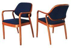 Don Petitt Chairs by Knoll, Pair on OneKingsLane.com
