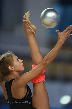 Aleksandra SOLDATOVA (RUS) Ball Training