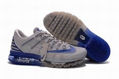 the latest e0628 9f4b5 Find Nike Air Maxs 2016 Mens 806771 040 Gray Royal Blue Running Shoe online  or in Nikelebron. Shop Top Brands and the latest styles Nike Air Maxs 2016  Mens ...