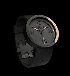 MINUS-8 conceptual Zone watch design by San Francisco-based ASTRO Studios
