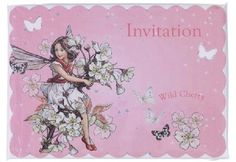 KidsPartyKitchen - Flower Fairy invitations