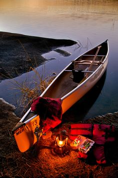 Evening Glow by Dave Berryman (Merlin Canoe)