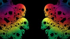 Skull Wallpaper Dekstop I2 » HD Wallpaper