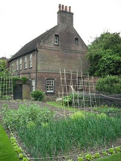 rustic vegetable garden, totally want one!