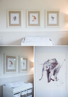 Sophisticated Safari Themed Nursery