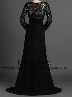 Black Modest Long Sleeves Formal Prom Evening Dress – JoJo Shop Black Lace Bridesmaid Dress, Prom Dresses Long With Sleeves, Formal Prom, Formal Dresses, Wedding Dresses, Mode Hijab, Dress Backs, Dress Making, Dresses Online