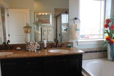 La Plata Master Bath (5 piece includes soaking tub, shower, and double sink)