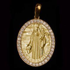 Medalha Santa Patrícia em prata de lei. Clique e veja mais detalhes!