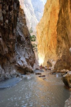 The awe-inspiring Saklikent Gorge just 25 mins drive from Kalkan, Antalya.  TURKEY