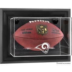 Los Angeles Rams Fanatics Authentic Black Framed Wall-Mountable Football Display Case - $99.99